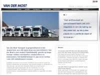 Vandermost.nl - Home - Van der Most Transport | 010 495 37 44