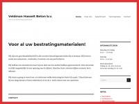 Veldman Hasselt Beton – Voor al uw bestratingsmaterialen!