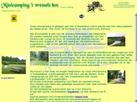 Welkom - Minicamping 't Vressels Bos