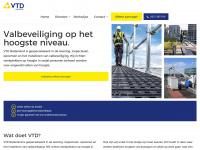 Vtdn.nl - VTD Nederland BV, specialist in valbeveiliging en veilig werken op hoogte