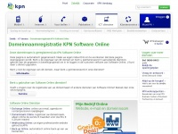W-bec.nl - Domeinnaamregistratie KPN Software Online - KPN
