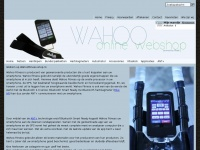 Wahoofitness-shop.nl - Dé Wahoo Fitness shop voor uw KICKR, ELEMNT en TICKR