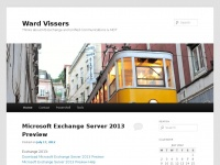 Ward Vissers Blogging About Microsoft Exchange VMware and other interresting things about ICT