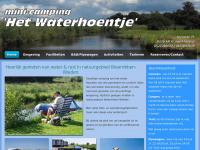 Waterhoentje.nl - Mini-camping Het Waterhoentje - St. Jansklooster (OV)