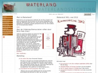 Waterlandstichting.nl - Waterlandstichting » home