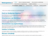Webdesignteksten.nl - Domeinnaam (tijdelijk) afgesloten