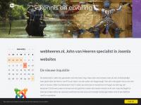 webheeren.nl, John van Heeren specialist in Joomla websites