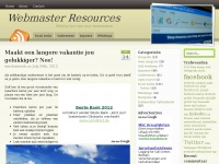 Webmaster Resources Webdesign Inspiratie SEO blog
