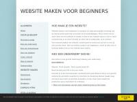 Websitemakenvoorbeginners.nl - Website maken voor beginners