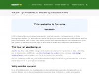 Weddentips.nl - Wedden tips om meer uit wedden op voetbal te halen