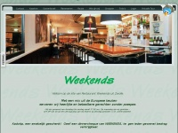 Restaurant Weekends Zwolle - Home