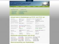 Weerstationhaaksbergen.nl - Het weer
