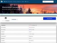 Weerstation Leeuwarden - Het actuele weer in de Friese hoofdstad Leeuwarden