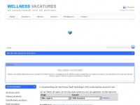 Wellness-vacatures.nl - Homepage-wellnessvacatures