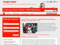 Werkenbijtempo-team.nl - Werken bij Tempo-Team - Werkplezier vind je hier!