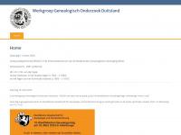 Wgod.nl - Werkgroep Genealogisch Onderzoek Duitsland