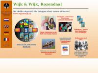 Wijkenwijk.nl - Wijk & Wijk Uitgevers, Rozendaal, de ideële uitgeverij van multiculturele boeken, Marie Wijk