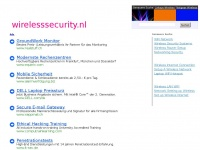 De domeinnaam wirelesssecurity.nl is te koop | Undeveloped