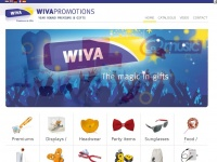 Wivapromotions.com - WIVA Promotions - Welkom