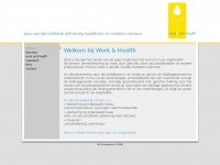 workandhealth.nl