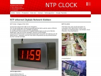 NTP CLOCK NTP Ethernet Digital LED Clocks & PoE Clocks | 4-digit Synchronized Network Clocks | NTP Network Solutions
