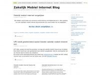 Zakelijkmobielinternet.nl - Zakelijk Mobiel Internet Blog - Nederlandse grootste website over zakelijk mobiel internet