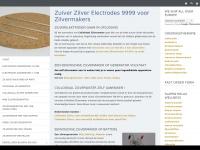 Vervangelectrodes voor je zilvermaker of zilvergenerator 99.99% zuiver