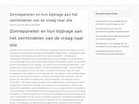 zonnecollectoren-zonnepanelen.nl
