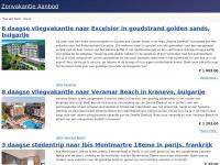 Vakantie boeken naar de zon - Dé beste zonvakantie deals van Nederland