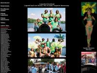 Looporkest brassband, Lopende band voor feesten. Met of zonder tropische danseressen