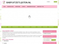 Babyuitzetlijsten.nl - Babyuitzetlijst – Just another WordPress site
