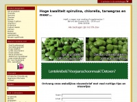 Chorella & Spirulina – Fonteine.com