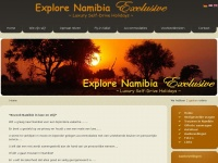 Namclusive.com - Explore Namibia Exclusive