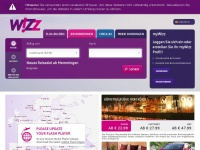 Wizzair.com - Official Wizz Air website | Book direct for the best prices