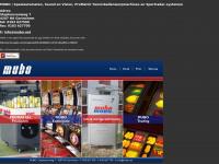 MUBO | Speelautomaten, Sound & Vision, ProMatch Tennisballenwerpmachines & Sportradar-systemen