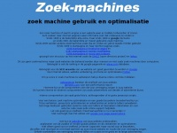 zoek machines over sites die hoog staan in de search engines. verbeter de positie door seo en pagerank door goede analyse