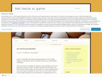 Het beste ei game | Leerlingen game ter ondersteuning van lespakket
