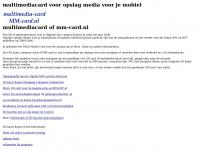 multimediacard .nl multi media card MM kaart multi-media-card