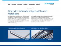 Kollinger.de - Kollinger Metallbau, Memmingen, Metallverarbeitung