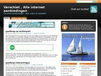 Verschiet.be - online website Maken