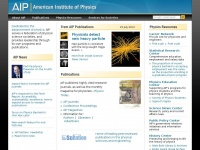 Aip.org - American Institute of Physics |