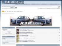W114 W115 /8 Mercedes Benz Oldtimerforum - Portal