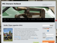 MG Owners Holland | Dé website voor en van MG Enthousiasten