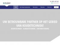 Kruiper Koudetechniek - Landelijk opererend koeltechnisch installatiebedrijf
