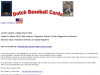 Dutchbaseballcards.nl - Dutch Baseball Cards