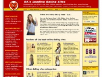 Leadingdatingsites.co.uk - Leading Dating Sites in the UK in 2019 - reviews, tips and advice
