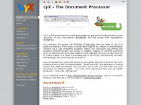 Lyx.org - LyX | LyX – The Document Processor