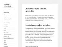 Biologisch Buitenland - En nog een WordPress site