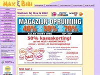 Max & Bibi: online internetwinkel voor baby-/kinderkleding en sportkleding