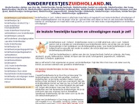 Kinderfeestjes Zuid Holland – Best of Care, Close to Home.